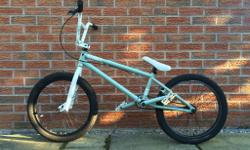 Good condition for a 3+ year old BMX which has been
