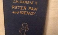 J.M. BARRIE.S PETER. PAN AND WENDY BOOK by