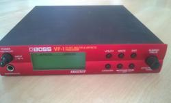 Boss VF-1 24 bit multi effects unit and guitar preamp,