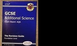 Unmarked and new GCSE Additional Science revision guide