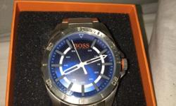New bought Hugo watch blue selling due to already