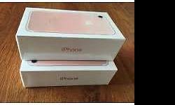 BRAND NEW APPLE IPHONE 7 (LATEST MODEL) - 32GB - ROSE
