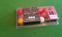 Brand new Riley snooker balls Unopened and size 1 7 / 8