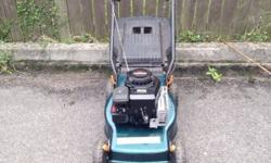 Briggs and Stratton petrol lawnmower for sale. This