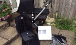 Bugaboo cameleon 2 Grey with black colour pack which is