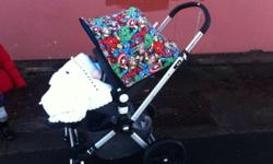 Here is a fab pram fab condition Changeable hoods