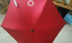 Immaculate red bugaboo parasol to fit any bugaboo pram.