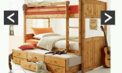 I am selling my childrens bunk bed with guest bed,