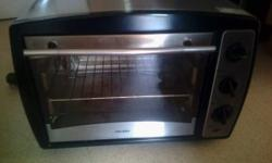 Perfect condition, Bush conventional, black and silver,