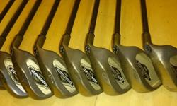 4, 5, 6, 7, 8, 9, pw and sw good condition iron set,