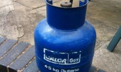 For sale Blue Calor gas 4.5kg butane gas cylinder