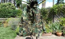 Camouflage Jacket size Large / Regular. Hardly worn.