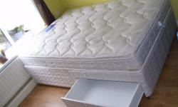 I HAVE FOR SALE SILENTNIGHT DOUBLE DIVAN BED WITH 2