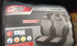 Car seat cover set one size also suitable for split