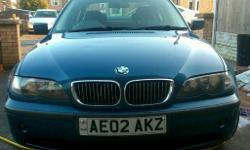 Bmw 320d se 2ltr turbo diesel 2002 facelift model 50