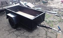 Car trailer13inch weels and good tyres 5half feet by