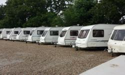 Touring caravans for sale Many models and layouts