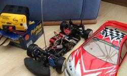 For sale Light weight racing rc car good working order