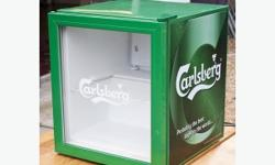Carlsberg drinks fridge excellent condition full