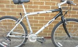 "Carrera vulcan mountain bike 21"" frame very good"
