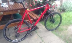 carrera xc vulcan disc spec Large frame Plenty of tread