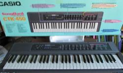 Casio keyboard, very good condition, and hardly used.