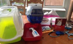 Cat litter trays and litter spray Pets at home cat