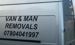 Hi are you looking for a big large van and man just