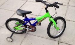 Hi I am selling a kids bike suitable for ages 5-7. It
