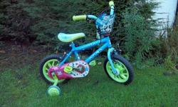 Childs bike toy story 12inch would suit 2 to 4 years