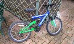Childs bike in good condition but needs some oil and
