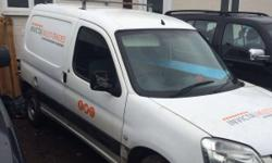 Citroen Berlingo 2003 Vans had a new clutch, engine,