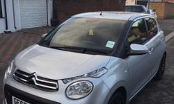 Citroen C1, 2016, £0 Road tax, 998cc, 1 Previous owner,