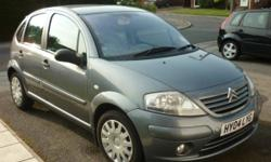 Grey Citroen C3 SX 1.4L. Very well looked after car