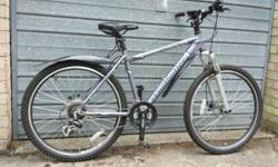Hi for sale almost new Claud Butler mountain bike. 26""