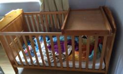 Metal single bunk beds frames sold at £80 with mattress