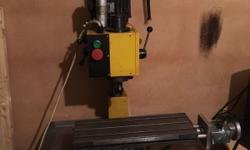Inherited this CNC mill from my grandad. Its currently