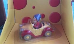 Noddy in his car figurine by corgi, never been removed