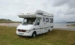 1997 Compass Commodore motor home, based on Mercedes