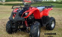 Condor FARM Quad Bike 125cc 4 Stroke Electric Start
