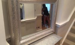 Console table/ dressing table with matching mirror.