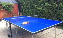 Full size outdoor table tennis table (152.5cm x 274cm)