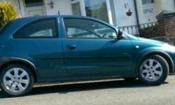 Corsa sxi 1.2 mot 10 months new clutch and exhaust fsh