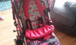 Selling my cossato flamingo stroller its 3 weeks old