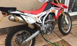 Fully upgraded Crf250l £££££££ spent ohlins shock front