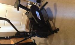 Gym Master Cross trainer with digital monitor. Buyer
