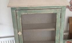 Lovely shabby chic style cupboard, bought and never