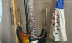 Beautiful custom build one off stratocaster n fender
