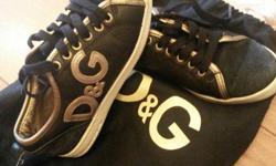 D&G trainers very good condition size 2 ( EU 35 )