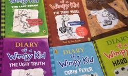 Diary of a wimpy kid set of books from smoke and pet